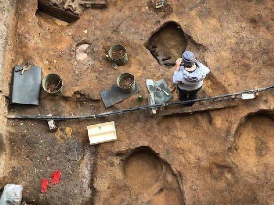 Под Москвой нашли череп мамонта с кладом