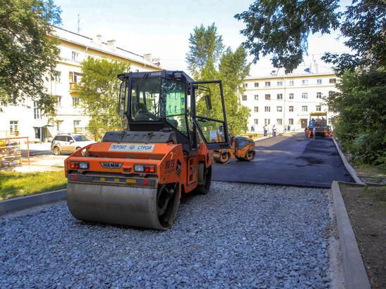 В Новосибирске подытожили благоустройство дворов в 2018 году