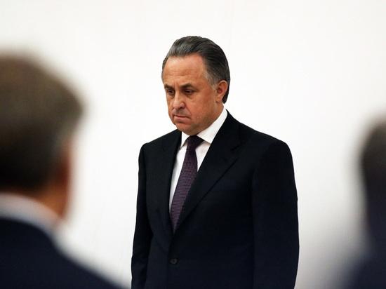 Мутко может покинуть пост президента РФС в декабре