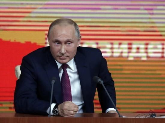 Ежегодная большая пресс-конференция Путина состоится 20 декабря