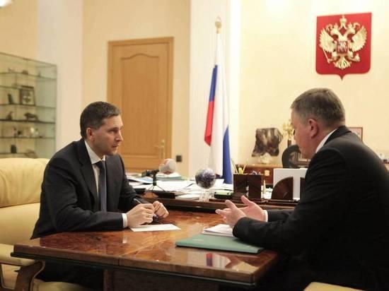 Министр природных ресурсов РФ одобрил экологические проекты Вологодской области
