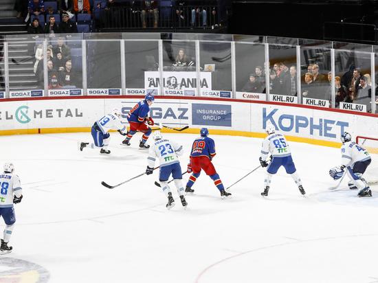 Защитник «Барыса» в матче с «Йокеритом» установил рекорд КХЛ