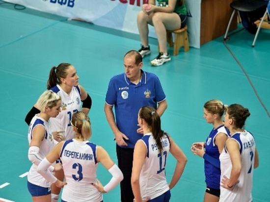Женский волейбольный клуб из Краснодара начал новый чемпионат с 2-х побед
