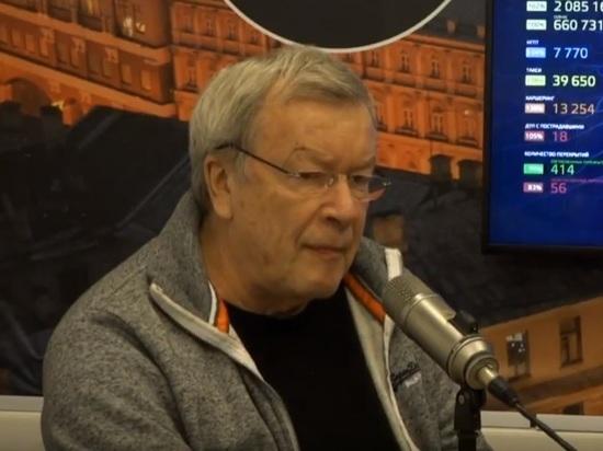 Писатель Виктор Ерофеев рассказал, почему его не пустили в Грузию