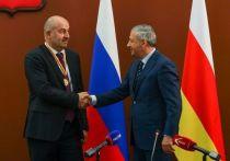 Черчесов получил орден от властей Северной Осетии