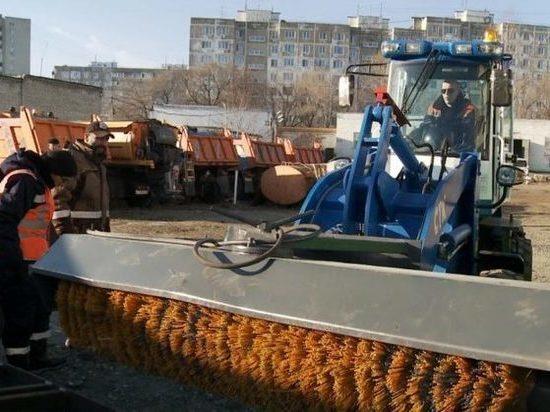 К зиме Хабаровск «закупился» новой техникой