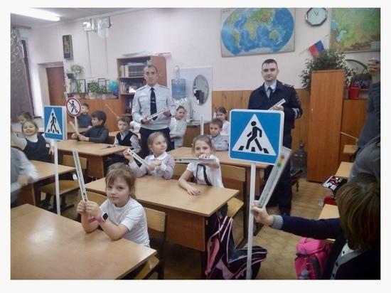 В Пущино сотрудники ГИБДД провели открытый урок для школьников
