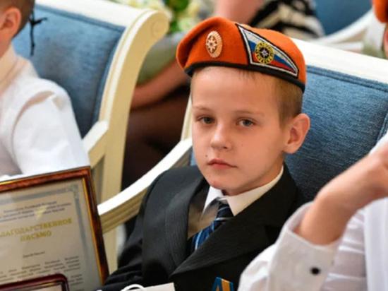 Маленькому украинцу, спасшему рязанскую семью на пожаре, дали гражданство России