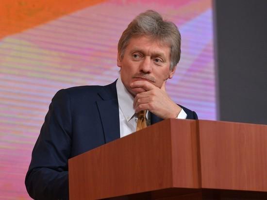 Песков рассказал о действиях Путина во время керченского инцидента