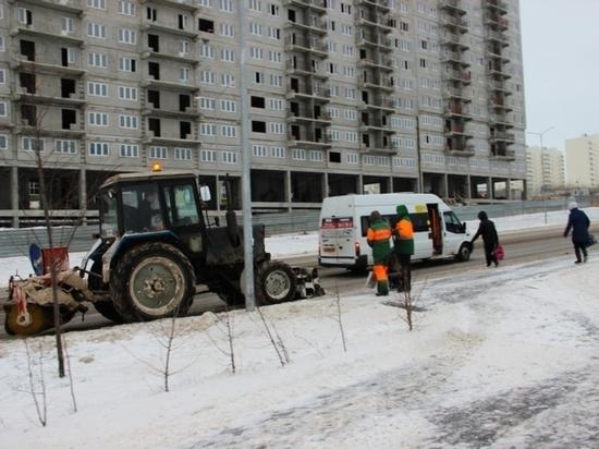 Управляющие компании Чебоксар к работе в зимних условиях готовы