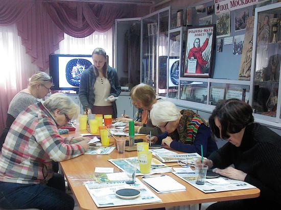 Учиться рисовать, несмотря на преклонный возраст
