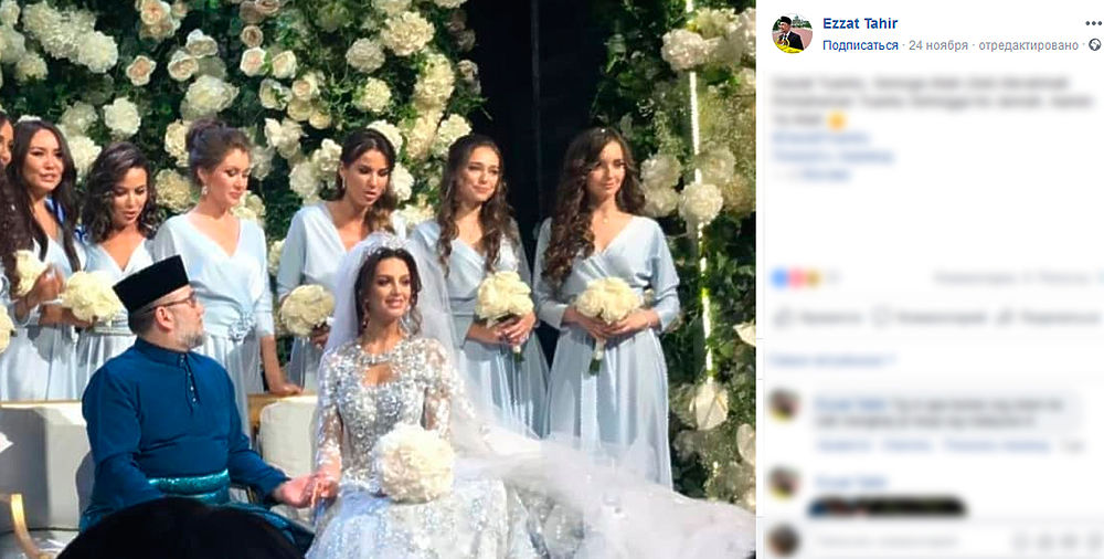 """Экс-король Малайзии отказался содержать """"Мисс Москву"""" с сыном - МК"""
