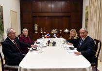 Премьер-министр Биньямин Нетаниягу принял президента Чехии Милоша Земана