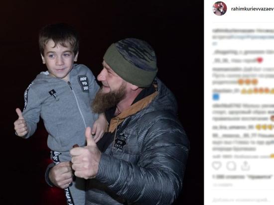 Пятилетний спортсмен стал самым юным почетным гражданином Чечни