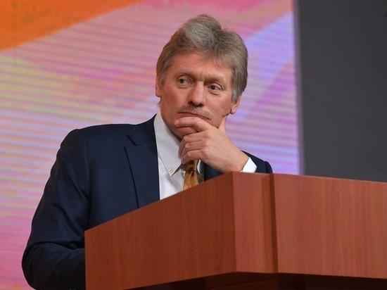 Песков высказался о связи Telegram-каналов с Кремлём