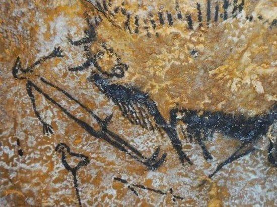 Наскальный рисунок во Франции объявлен летописью древней катастрофы