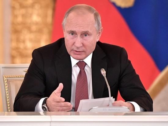 Путин указал, какой орган отстреливают себе уводящие доллар от России