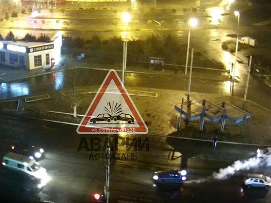 В Астрахани таксист гнался за пешеходом чтобы его задавить