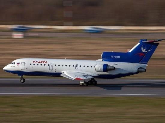 Рейсы охватывают также Тюмень, Новосибирск и южные города