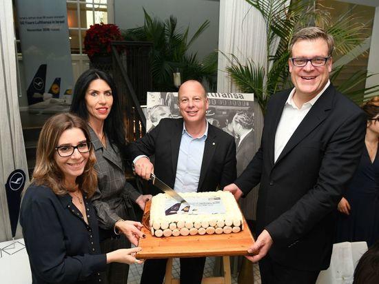 «Люфтганза» отмечает 50-летие своей деятельности в Израиле