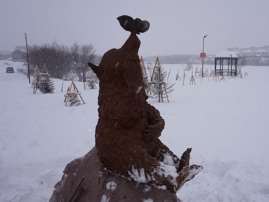 На озере в  Петропавловске-Камчатском обосновался медведь