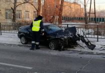 В Улан-Удэ произошло ДТП с автобусом и пострадавшими