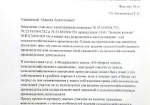 Елена Лекиашвили, руководитель штаба Навального в Ярославле направила в региональный Департамент имущественных и земельных отношений обращение на имя директора