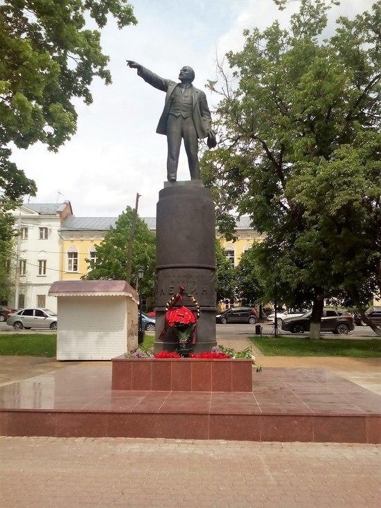 Памятник Ленину в Калуге стал объектом культурного наследия