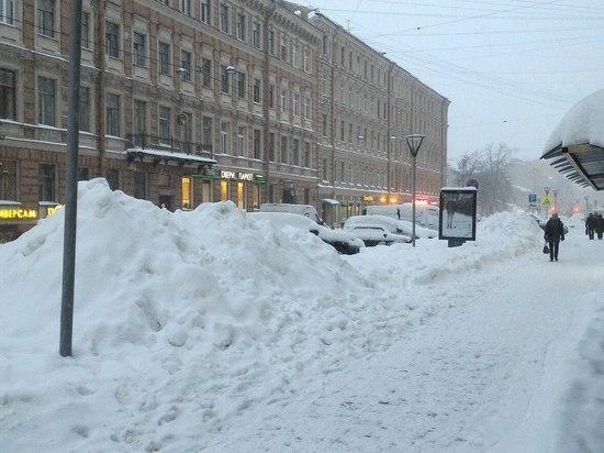 Зима в Петербурге будет снежной и пасмурной