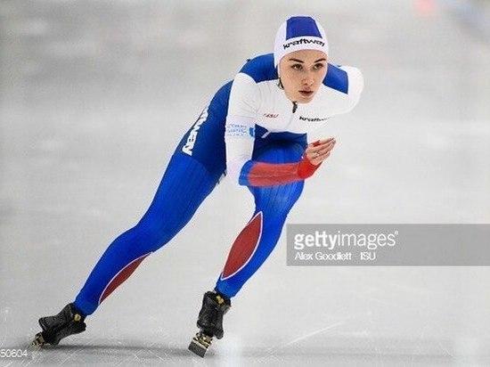 Кировчанка взяла «серебро» на Кубке мира по конькобежному спорту