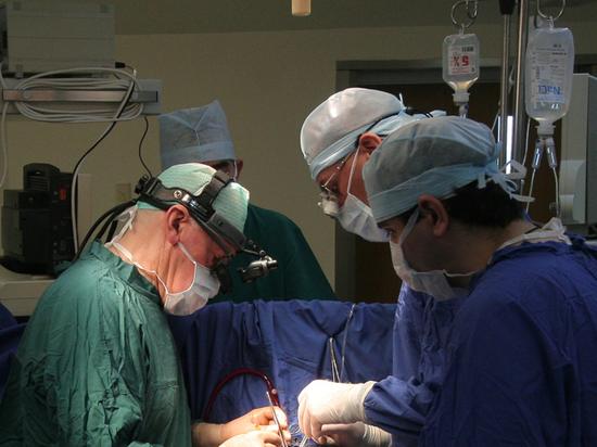 Московские врачи остановили кровотечение у пациента двумя баллонами