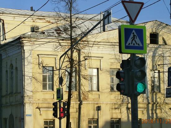 Новый светофор установили в Вытегре