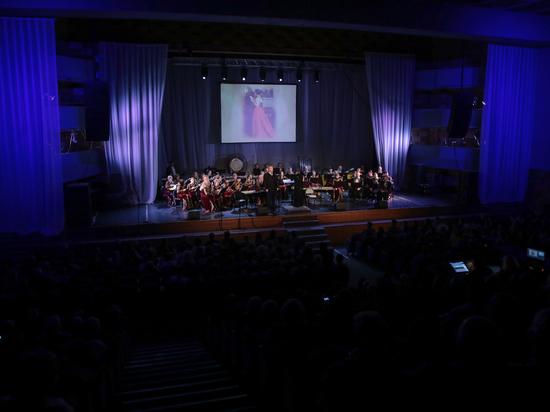 Губернаторский оркестр русских народных инструментов отметил свое 25-летие