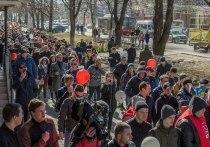 Названы самые активные участники митингов в Туле