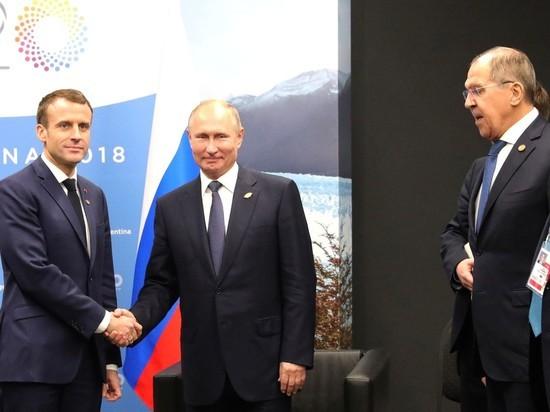 Лавров: Путин