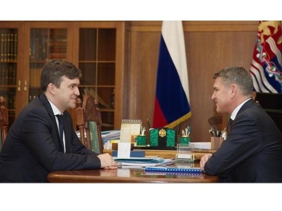 Станислав Воскресенский провел встречу с генеральным директором ПАО «МРСK Центра» Игорем Маковским