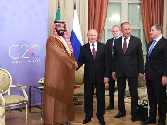 В Кремле объяснили, почему Путин «дал пять» саудовскому принцу