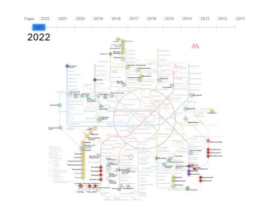 В столичном метрополитене откроют 35 станций к 2023 году