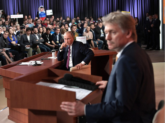 Песков: во время споров Путин аргументировано
