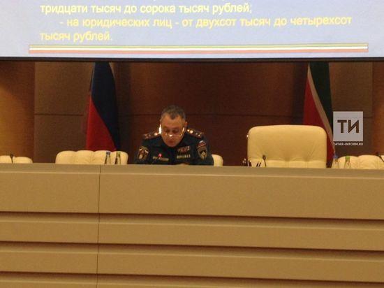 В  Татарстане будет введен противопожарный режим
