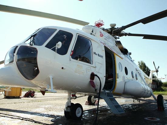 Санитары авиации спасли жизнь 48-летнему вологжанину