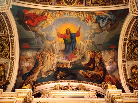 РПЦ забирает Исаакий по частям: в соборе должны освятить новый придел