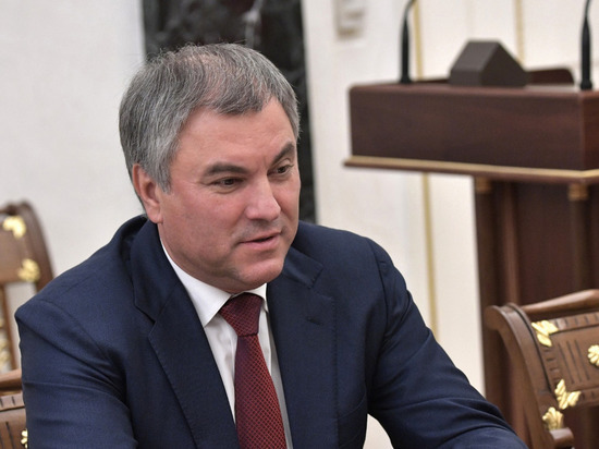Володин рассказал о повышении уровня профессионализма депутатов Госдумы