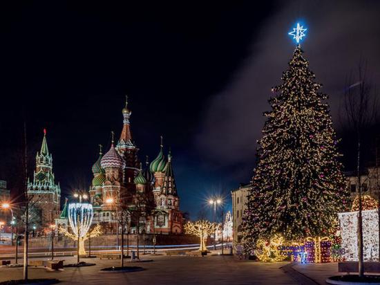В Новый год Лубянку украсят гигантской гирляндой