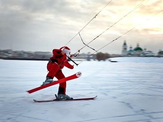 В Чебоксарах Деды Морозы устроят гонки на кайтингах