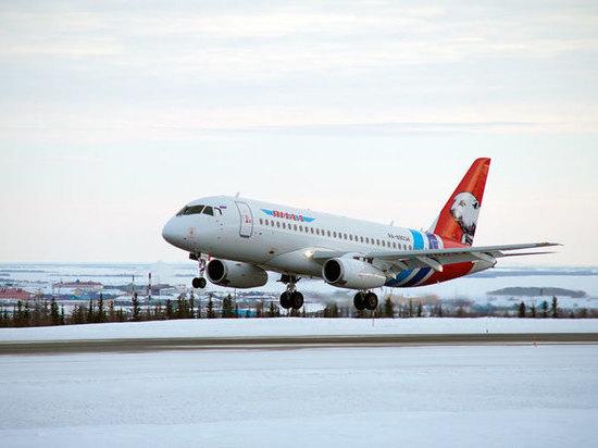 В столице Ямала из-за погоды отменены авиарейсы
