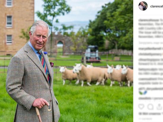 Принц Чарльз назван одним из самых элегантных мужчин по версии GQ