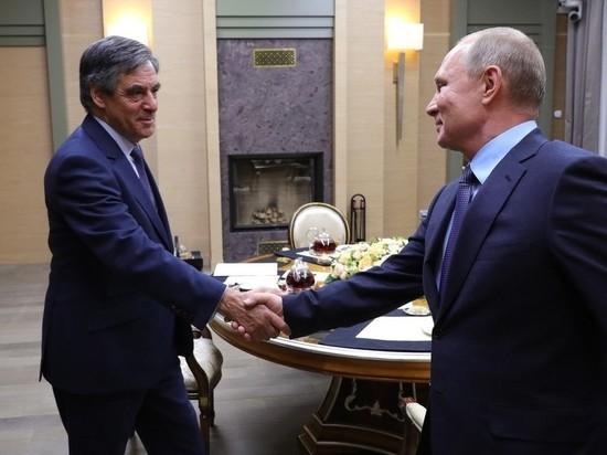 Путин как друг побеседовал с экс-премьером Франции Фийоном
