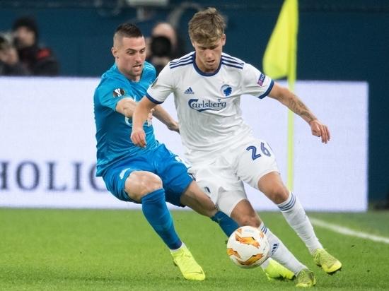 «Зенит» обеспечил себе выход в плей-офф Лиги Европы