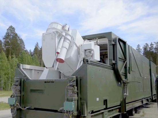 Российские боевые лазеры